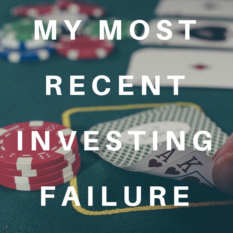 Investing Failure